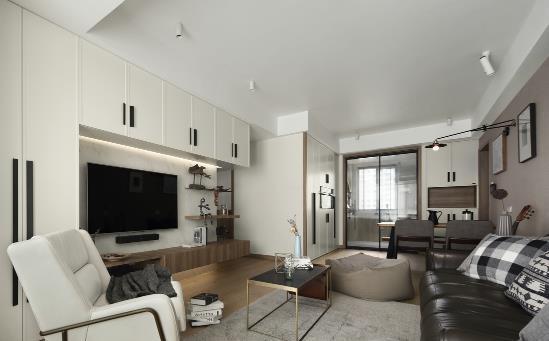 106�O三居室装修多少钱?20万全包全屋定制柜性价比超高!