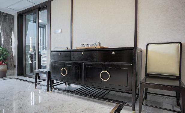 160平新中式装修多少钱?25万全包精致优雅中式美
