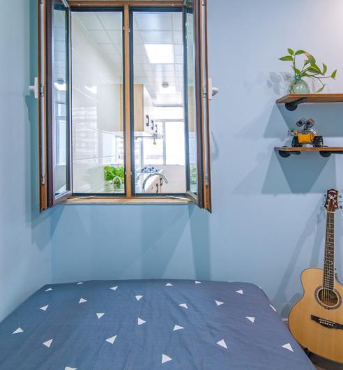 78�O北欧风两居室,9万装修阳光温暖美爆整个家!