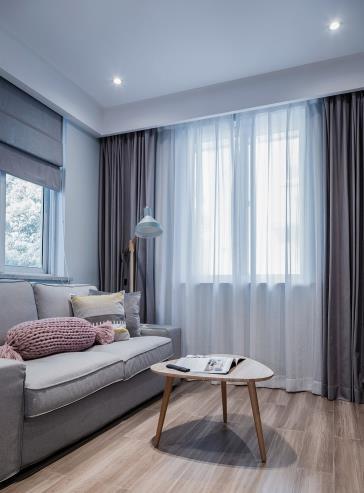 装修日记:55�O的小两室,清新北欧风,装修简直完美!