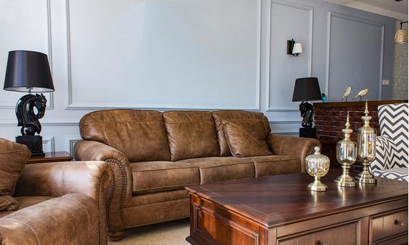 装修日记:8万半包148平简美风装修,打造舒适复古美式三居室