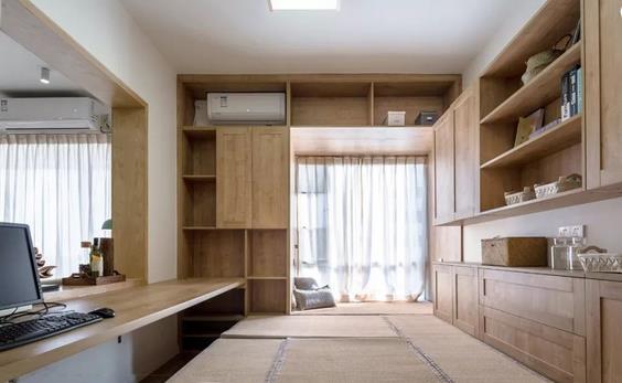 木作装修怎么设计更好?柜子造型、柜门颜色都重要