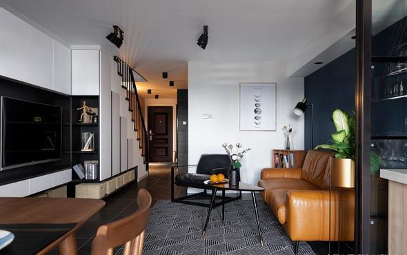30万打造100平小复式公寓