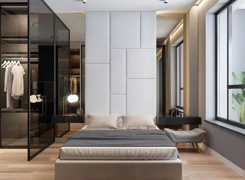 衣柜门板用玻璃好不好?家里玻璃衣橱要怎么设计?