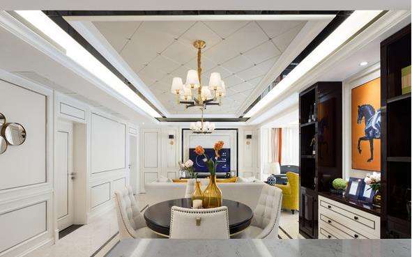 97平混搭风装修要多少钱?30万精装品质混搭三室