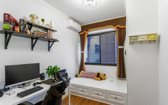 装修日记:15万省钱装99平美式三室,多彩混搭的现代美式