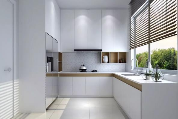 L型厨房怎么设计好看又实用?L型厨房设计要点总结