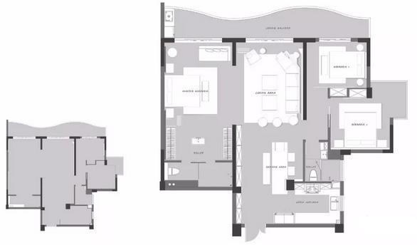 150平波普风三居室装修样板间,喜欢波普风的一定要看看