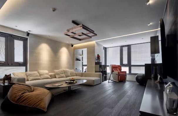 140平现代简约风装修多少钱?50万打造140平高质感大宅