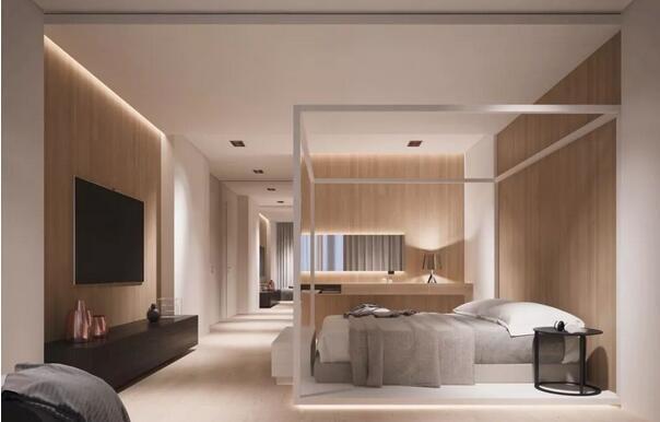 5大卧室背景墙设计方案推荐,从此抛弃大白墙