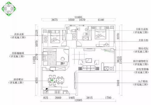 装修日记:20万整装111平现代混搭风装修,超时尚混搭三室