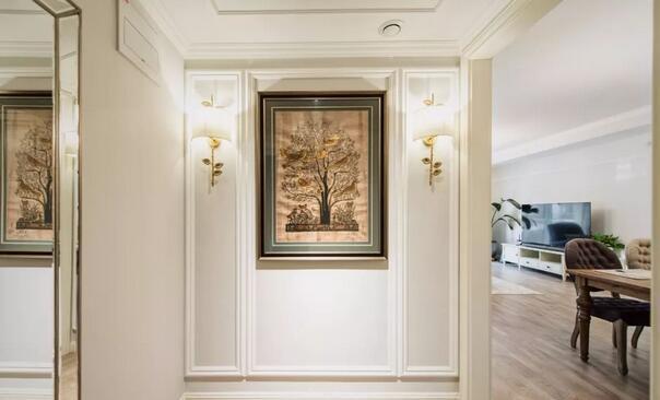 82平简欧风装修多少钱?18万打造奢华简欧两居室