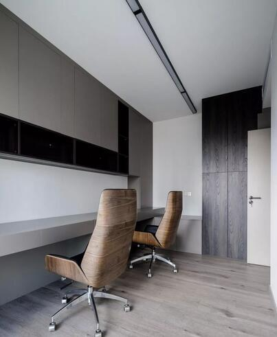 160平简约风装修要花多少钱?60万打造高质感四居室大宅