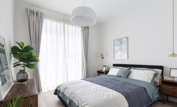 122平北欧风清新装修多少钱合适?25万打造纯净三居室大宅