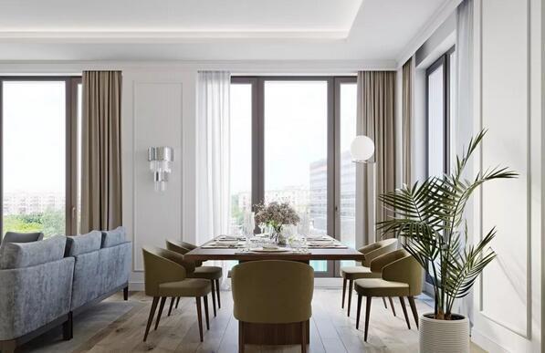 客餐厅怎么分区设计?4大技巧分区更省空间