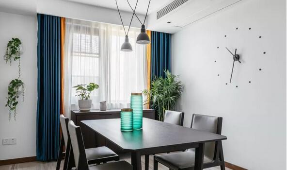 窗簾怎樣搭配顏色更出眾?簡約裝修窗簾搭配原則推薦
