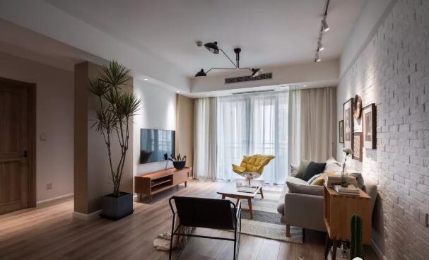 90平混搭风三居室装修多少钱?30万打造复古高质感混搭风