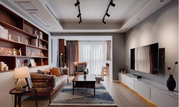 装修日记:64平温馨两居室装修,20万让小户型变大空间