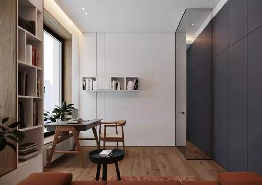 120平大平层现代风装修,轻松装出豪宅的通透感
