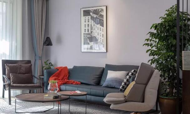装修日记:30万装110平北欧风三居室,最独特的错层设计