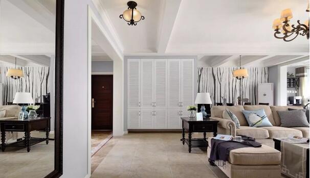 32万打造142平复古美式风装修,典雅美式风贵得值