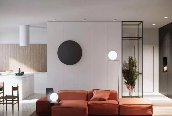 沙发背景墙打造技巧,只能挂画太浪费(含装修费用)