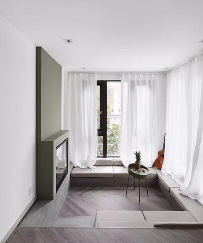 100平现代简约风装修多少钱?30万打造高级单身空间