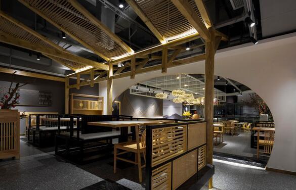 餐厅就餐区设计
