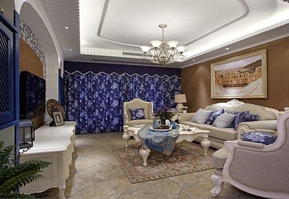 太原城市人家装饰城南逸居120平美式风格装修案例