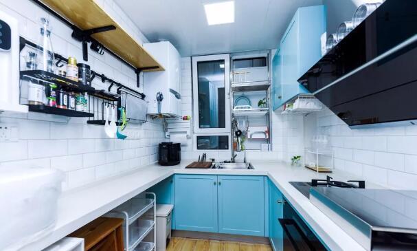 25万打造100平厨房装修