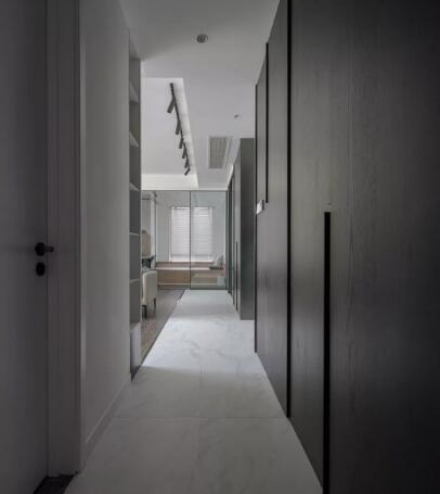 20万89平小三室卧室装修