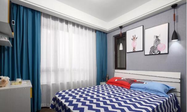 高级灰现代简约三居室