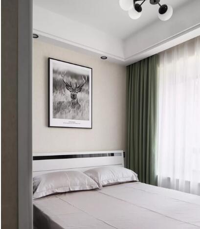 122平方装修多少钱?20万打造高级灰现代简约三居室