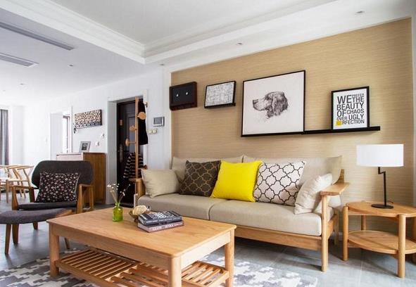 乐山业之峰装饰嘉州新城89平日式三居室装修案例