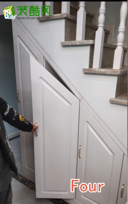 楼梯间收纳柜