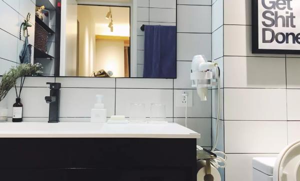 小户型北欧风卫生间装修