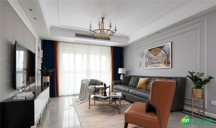 遵义144平米现代风格三室两厅网赌平台效果图-创艺装饰