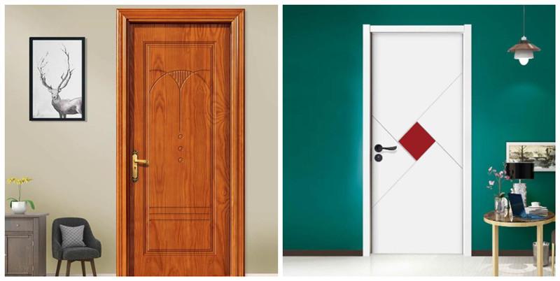实木复合门烤漆门和免漆门哪个好?优缺点对比