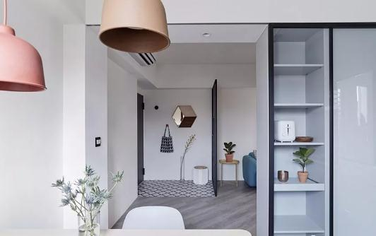 66平老房改造时尚大变身,小户型老房改造装修典范