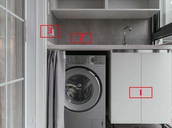 洗衣机地漏_新家洗衣机水电位置留对了么?洗衣机插座、进出水太重要-装酷网