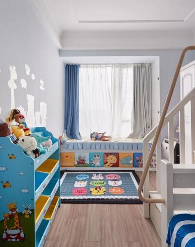 89平美式三居室装修,36万整装轻奢质感